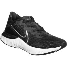 Nike Renew Run W black/white/dark smoke/grey/metallic silver 38