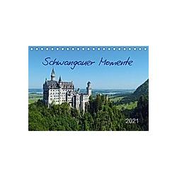 Schwangauer Momente (Tischkalender 2021 DIN A5 quer)