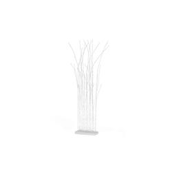 MAXXMEE Raumteiler, LED-Raumtrenner aus 12 Zweigen weiß
