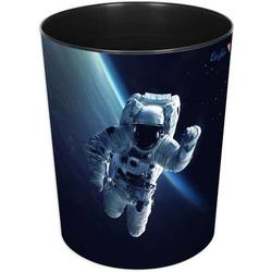 Papierkorb 13 Liter rund Kunststoff Astronaut