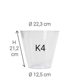Echtglas K4