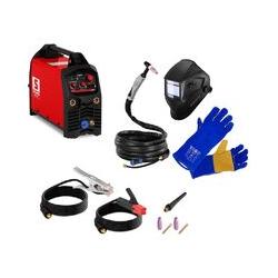 Schweißset Wig mma E Hand 200 A 230V Igb Inverter Schweißgerät Set + Schweißhelm