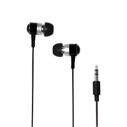 LogiLink Stereo In-Ear Kopfhörer schwarz