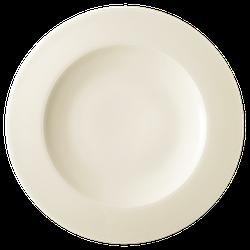 Diamant Teller flach 31,5 cm cream