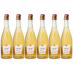 Light Live Mango alkoholfreier Sekt harmonisch 750ml - 6er Pack