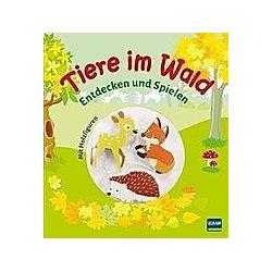 Tiere im Wald  m. 3 Holzfiguren - Buch