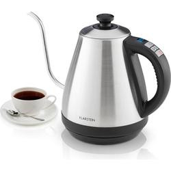 Klarstein Garcon Wasserkocher & Toaster - Edelstahl