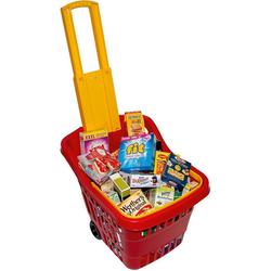 Chr. Tanner Spiel-Einkaufswagen Einkaufstrolley mit Zubehör