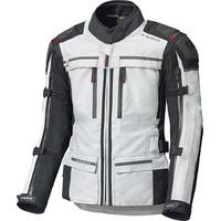 Held Atacama Top, Gore-Tex Motorrad Textiljacke, grau-rot, Größe L