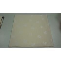 Kissenhülle Kissen Bezug in sich gemustert creme, 60 x 60 cm
