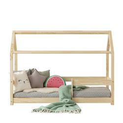 Łóżko Dalidda domek z barierką