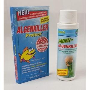 Weitz-Wasserwelt Algenkiller Protect DAS Original im Kombi Set 1 mit Fadenalgen Killer