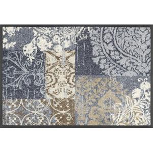 wash+dry Fußmatte, Armonia grey 40x60 cm, innen und außen, waschbar