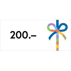 Digitaler Gutschein 200€, Gutschein