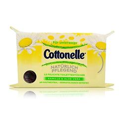 Cottonelle - Feuchte Toilettentücher für unterwegs - 12St