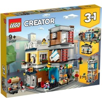 Lego Creator Stadthaus mit Zoohandlung & Café