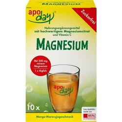 Apoday Magnesium Mango-Maracuja zuckerfrei Pulver