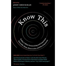 Know This. John Brockman  - Buch