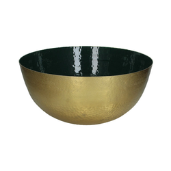 Schale gold/grün