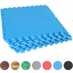 Schutzmattenset mit acht Teilen Blau