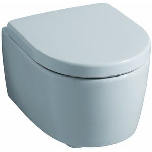 Keramag / Geberit iCon WC-Sitz mit Absenkautomatik - Weiß Alpin - 574130000