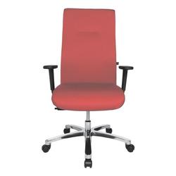 Schwerlast-Bürostuhl »Big Star 20« mit Armlehnen rot, Topstar