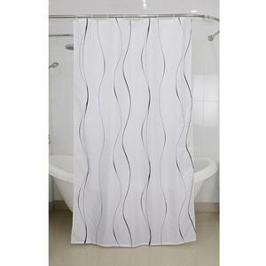 Venus Textil-Duschvorhang Schnürsenkel  (240 x 200 cm, Weiß)