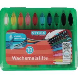 STYLEX Wachsmalstifte mit Steckfunktion 28225