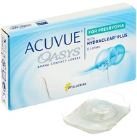 Acuvue Oasys for Presbyopia 6 St. / 8.40 BC / 14.30 BC / -4.00 DPT / Low ADD