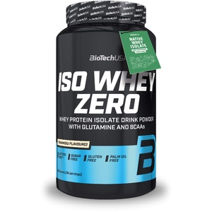 BioTechUSA Iso Whey Zero Premium Protein Isolat Pulver, 908g, Tiramisu