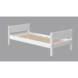 Flexa Einzelbett White Jugendbett 80-17101-40 80-17102-40