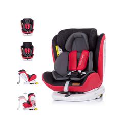 Chipolino Autokindersitz Kindersitz Tourneo Gruppe 0+/1/2/3, 9.5 kg, (0 - 36 kg), Isofix, 360° drehbar rot