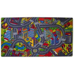 Teppich Spielstraße Amsterdam 200 x 100 cm, Mr. Ghorbani, Rechteckig, Höhe 5 mm
