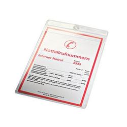 10 LEITZ Sichttaschen Sichttasche 4095 transparent genarbt DIN A5