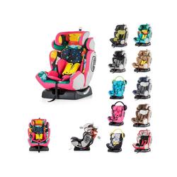 Chipolino Autokindersitz Kindersitz 4 Max Gruppe 0+/1/2/3, 9 kg, (0 - 36 kg), Seitenaufprallschutz rosa