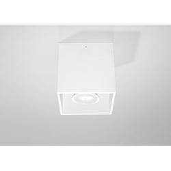 Licht-Erlebnisse Strahler GEO Deckenspot Weiß Bauhausstil Inenn Flur Strahler Aufbauspot Lampe (1-St)