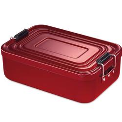 KÜCHENPROFI Lunchbox Lunch Box groß 23x15x7 cm rot Brotdose