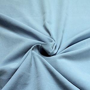 Stoff am Stück Stoff Baumwolle Cord hellblau Baumwollstoff Babycord Feincord