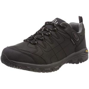 Bruetting Herren Blackburn Low Trekking-& Wanderhalbschuhe, Schwarz (Schwarz/Grau), 37 EU