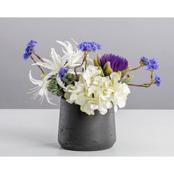 Kunstblume Go to Bed, Blütenwerk, Höhe 30 cm