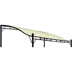 DEGAMO Ersatzdach für Anbaupavillon MANTOVA, PVC-beschichtet ecru