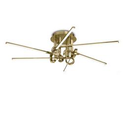 Mantra Deckenleuchte LED-Deckenleuchte Cinto länglich 6-flammig