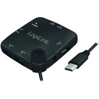 Logilink UA0344 - USB Typ-C™ Multifunktions-Hub und Cardreader