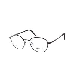 Neubau Eyewear Max T057/75 9040, inkl. Gläser, Runde Brille, Herren