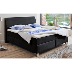 Livin Boxspringbett 430 in anthrazit in 180 x 200 cm