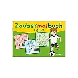 Zaubermalbuch Fußball - Buch