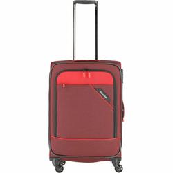 Travelite Derby 4-Rollen Trolley M 66 cm rot