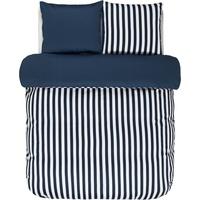 Marc O'Polo Classic Stripe indigo blau (155x220+80x80cm)