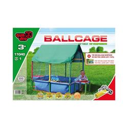 Quadro Spielzeug-Gartenset Bällebad Ballcage