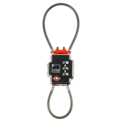 Lewis N. Clark Travel Sentry Lockdown Triple Security Cable Luggage Lock for Travel